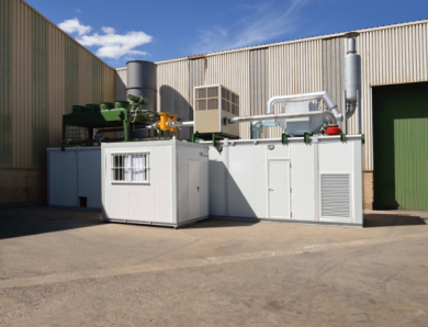 Gasification technology for biomass and organic waste